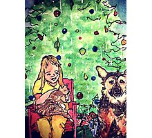Wildago's Girl at Christmas Photographic Print