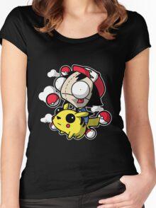 Invader Zim - Invader Ash Women's Fitted Scoop T-Shirt