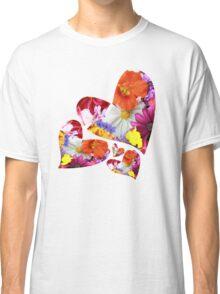 Flower hearts Classic T-Shirt