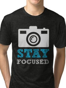 Star Focused Camera Photographer Photography  Tri-blend T-Shirt