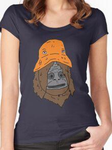 Sassy the sasquatch bucket hat Women's Fitted Scoop T-Shirt