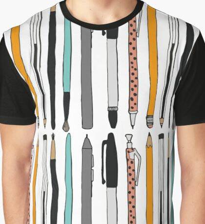 Pens and pencils Graphic T-Shirt