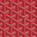 Goyard red by Mletterz