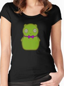 alien for flog Women's Fitted Scoop T-Shirt