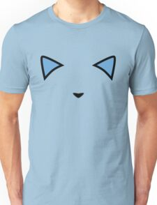 Invisible Meow Light Blue Unisex T-Shirt