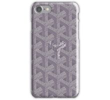 Goyard Grey iPhone Case/Skin