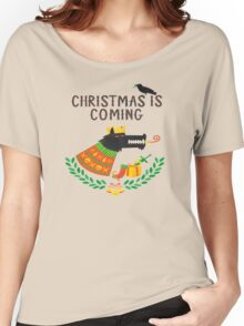 Game of Thrones Christmas, Juego de Tronos Navidad Women's Relaxed Fit T-Shirt