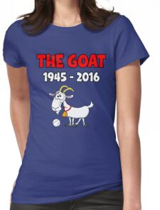 Chicago Baseball Goat Curse Womens Fitted T-Shirt