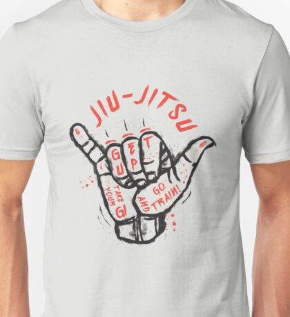 Jiu-jitsu. Go train! Unisex T-Shirt