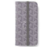 Goyard Grey iPhone Wallet/Case/Skin