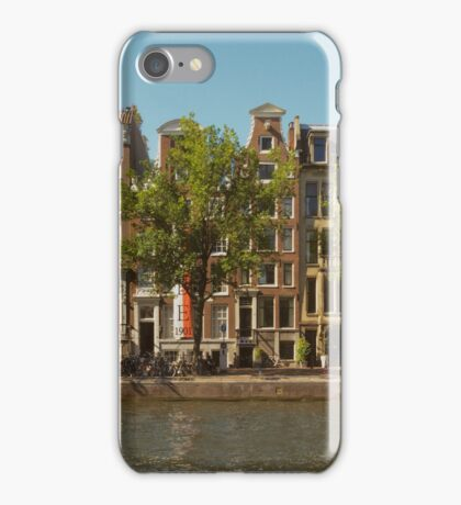 Canal and Canal Houses iPhone Case/Skin