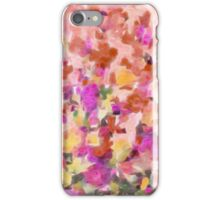Colorful Watercolor Flower Floral Patterns iPhone Case/Skin