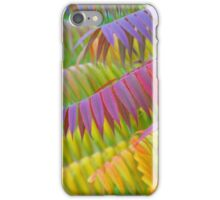 Autumn Rainbow of Leaves iPhone Case/Skin