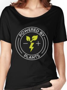 Powered By Plants - Vegan Women's Relaxed Fit T-Shirt