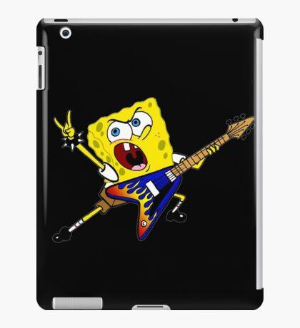spongebob rock iPad Case/Skin