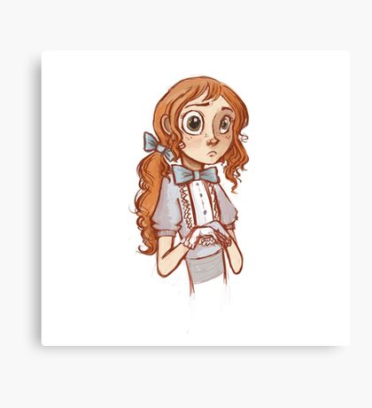 Tiny Wizard Canvas Print