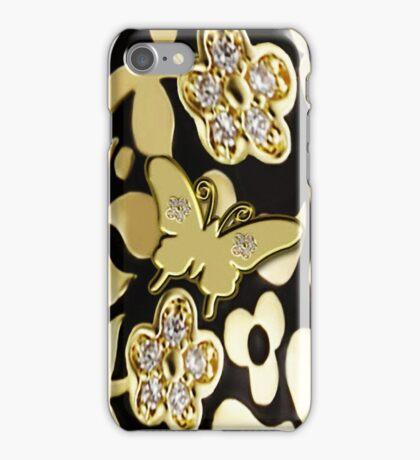 Ƹ̴Ӂ̴ƷGOLDEN BUTTERFLY IPHONE CASE A TOUCH OF ELEGANCE Ƹ̴Ӂ̴Ʒ iPhone Case/Skin