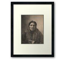 Kicking Horse Charley - Flat Head Framed Print