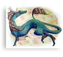 Playful Qilin Canvas Print