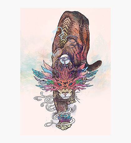 Journeying Spirit (Mountain Lion) Photographic Print