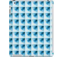 Kassettenmuste Blue iPad Case/Skin