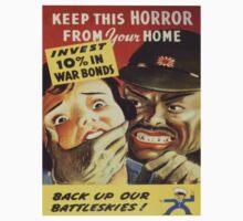 Vintage poster - War Bonds Kids Tee