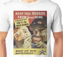 Vintage poster - War Bonds Unisex T-Shirt
