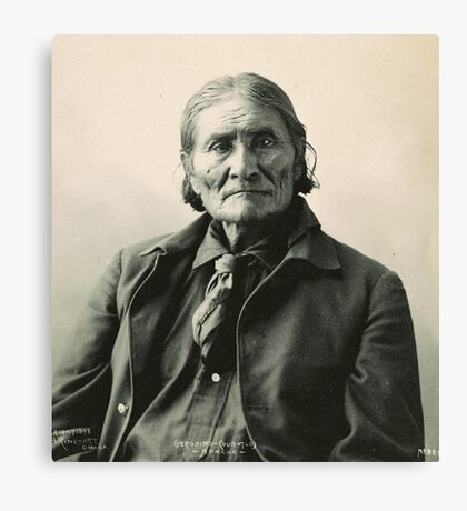 Geronimo - Apache Canvas Print