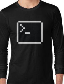 LInux computer screen Long Sleeve T-Shirt