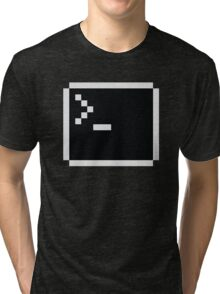 LInux computer screen Tri-blend T-Shirt