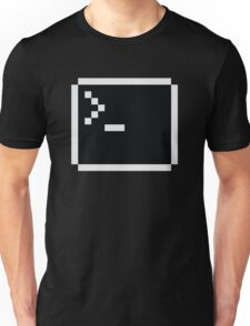 LInux computer screen Unisex T-Shirt