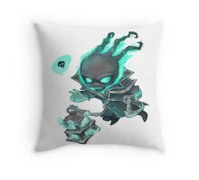 Chibi Thresh Throw Pillow