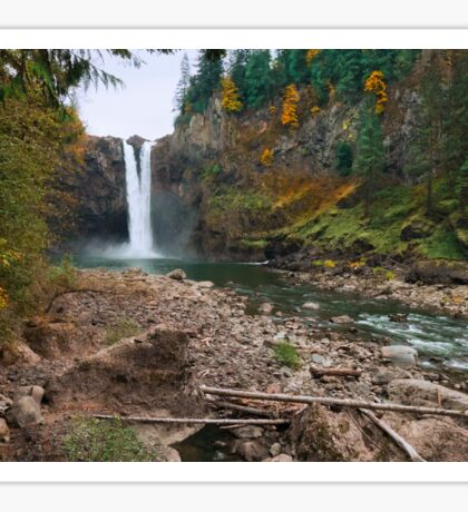 Snoqualmie Falls Sticker