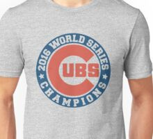Chicago Cubs 2016 World Series  Unisex T-Shirt