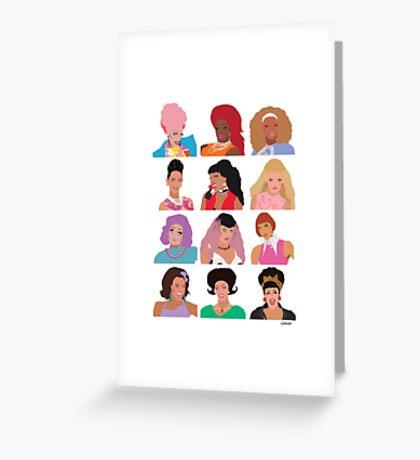 RuPaul's Drag Race Season 8 Greeting Card