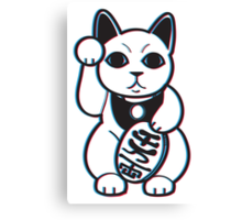 Maneki-NekWHOAH! Canvas Print