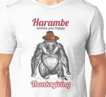 Harambe - Happy Thanksgiving Unisex T-Shirt