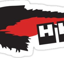 HKS WOLF - Black Sticker