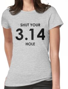 Shut Your Pi Hole Womens Fitted T-Shirt