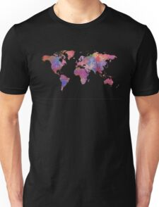 World map. 1 Unisex T-Shirt