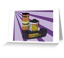 Obsolete Film - V2 Greeting Card