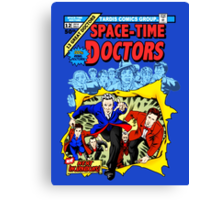 Space-Time Doctors Canvas Print