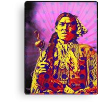 Yellow Magpie - Psychedelic Canvas Print