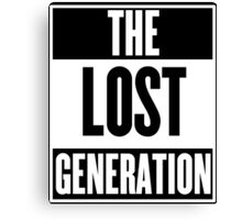 The Lost Generation Canvas Print