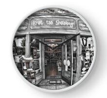 Fisheye Store Clock