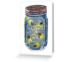 Southern Fried Mason Jar Greeting Card