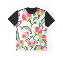 Suzani-inspired Blooms Graphic T-Shirt