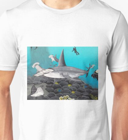 Beautiful Hammerhead Shark Painting  Unisex T-Shirt