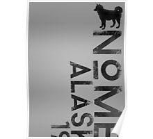 Nome, Alaska (Dark Silhouette Version) Poster