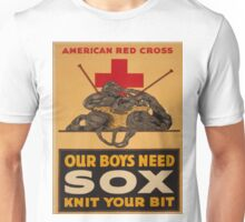 Vintage poster - Knit Your Bit Unisex T-Shirt